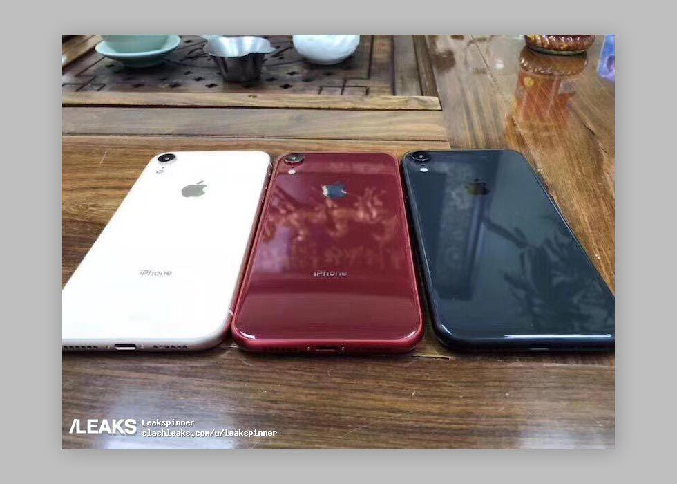 Är det här tre av höstens iPhone-färger?