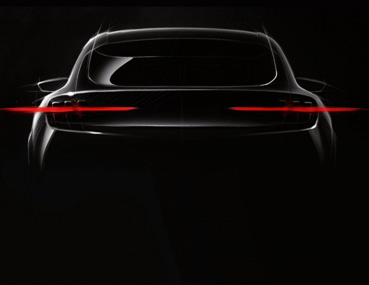 Fords eldrivna SUV får inspiration av Mustang