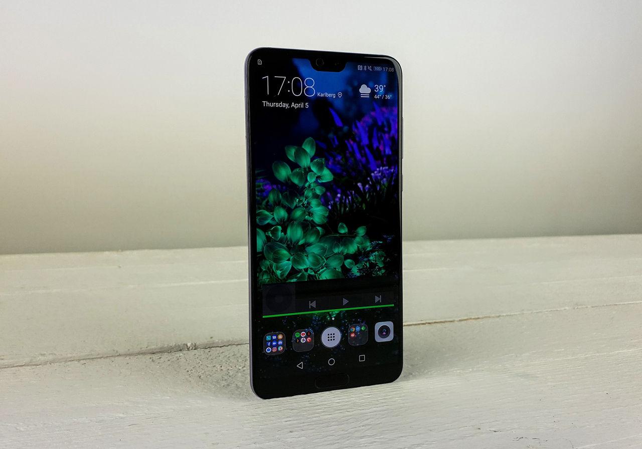 Huawei fuskar i benchmarktester