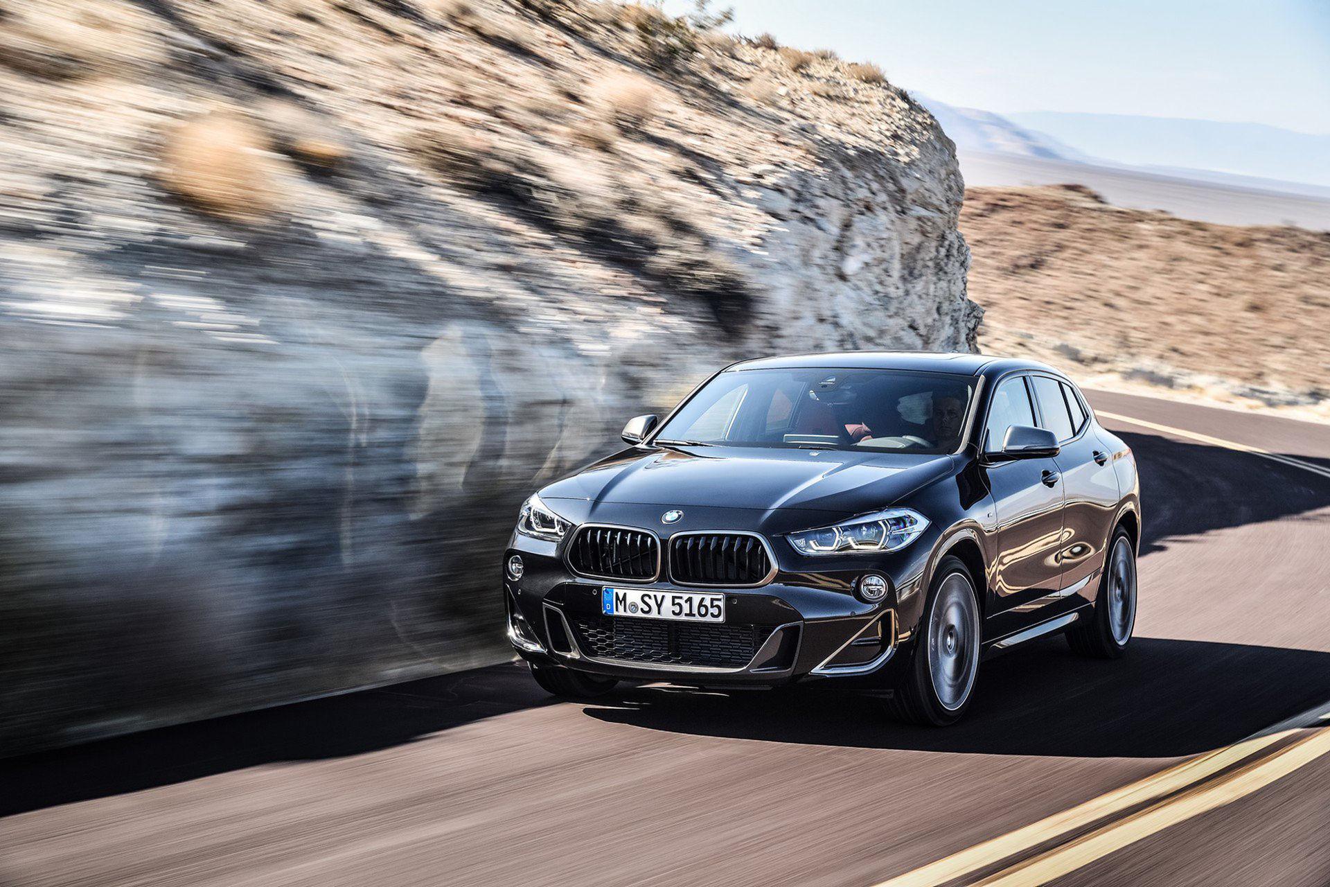 BMW X2 nu även som M35i