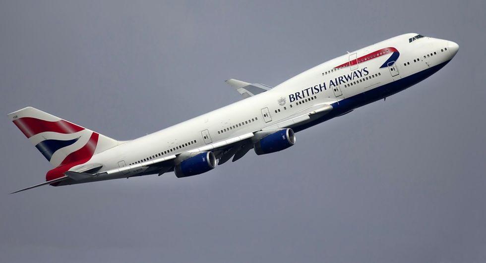 British Airways webbsida hackades