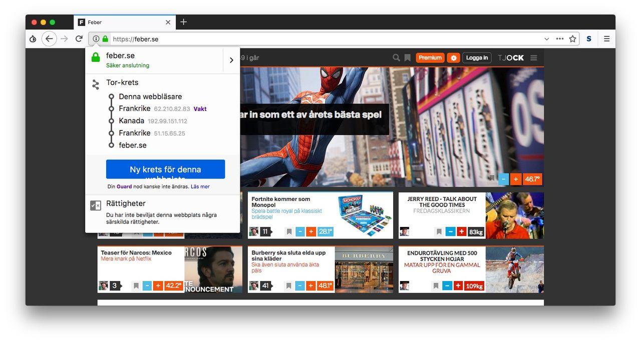 Tor släpper ny version av sin webbläsare