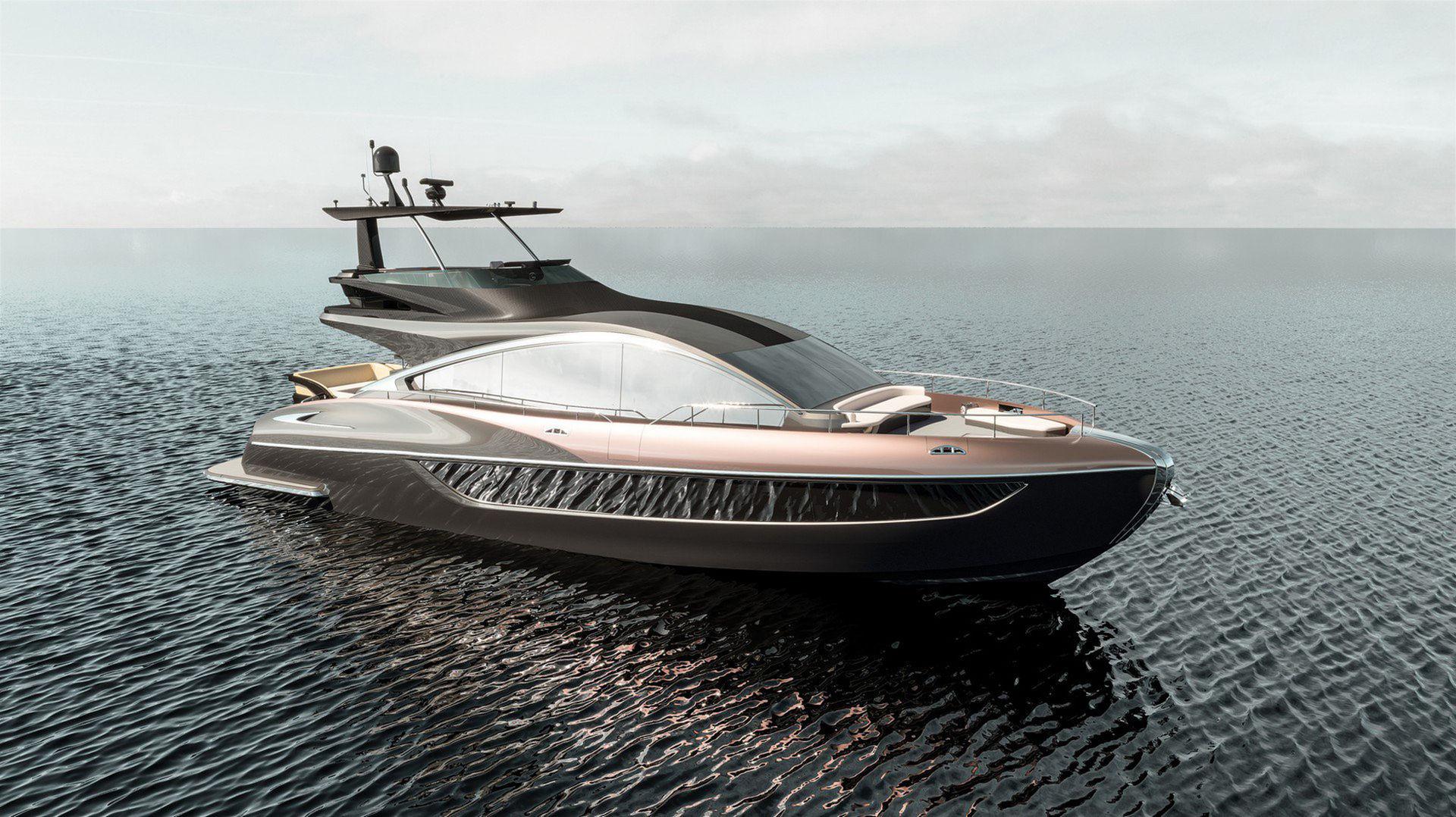 Lexus presenterar yachten LY 650