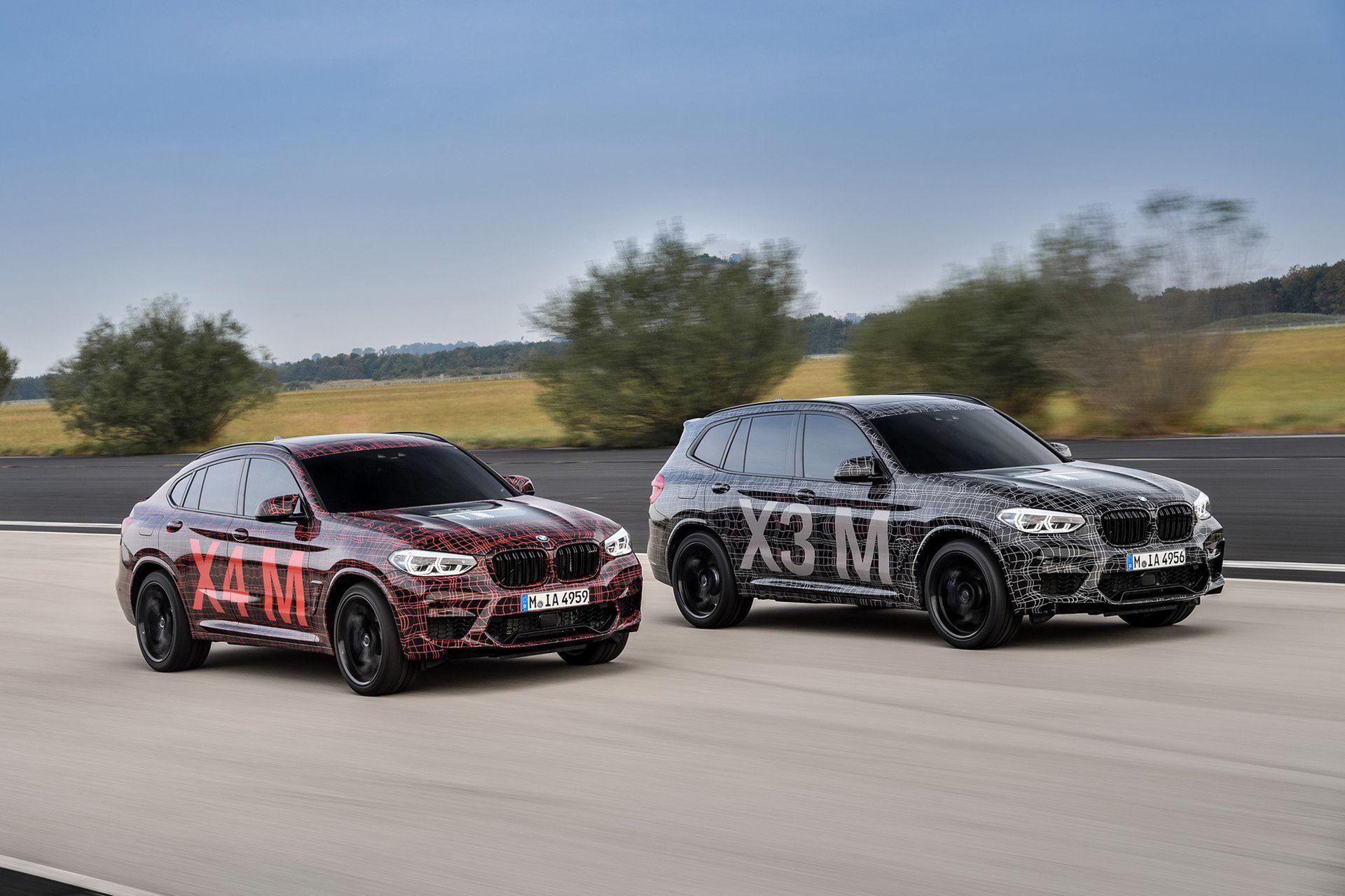 BMW visar upp prototyper av X3 M och X4 M