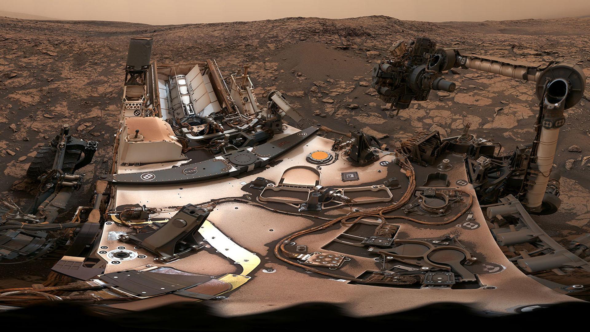 Curiosity har tagit ytterligare en cool selfie på Mars