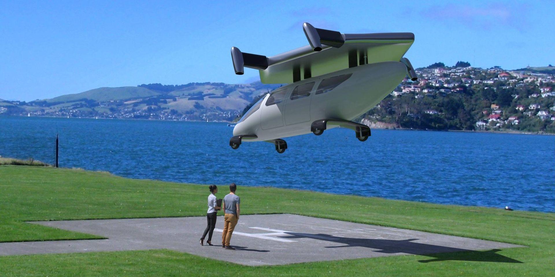 JETcopter är ett nytt VTOL-plan från Tyskland