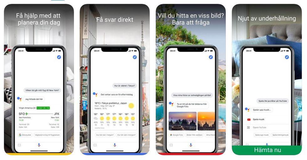 Google Assistent på svenska släppt till iOS. Prata svenska med ... 86fbb2ef51a9a