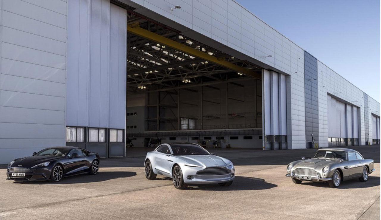 Nytt hem i Wales för Aston Martins eldrivna modeller