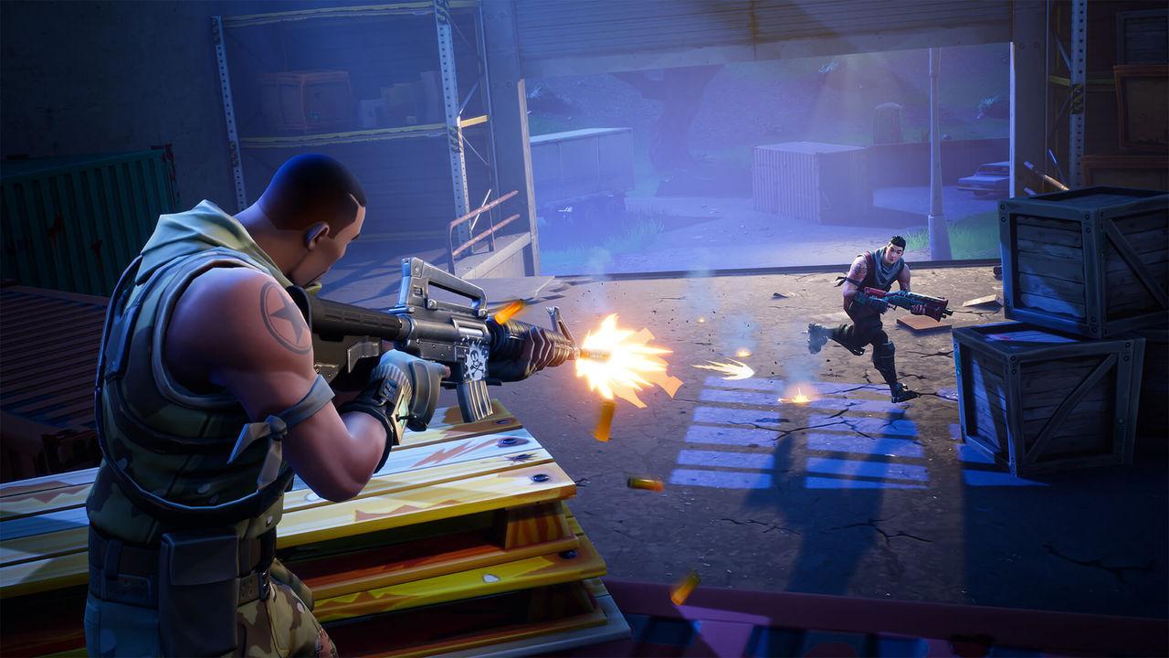 Nerf jobbar på Fortnite-baserade leksaksgevär