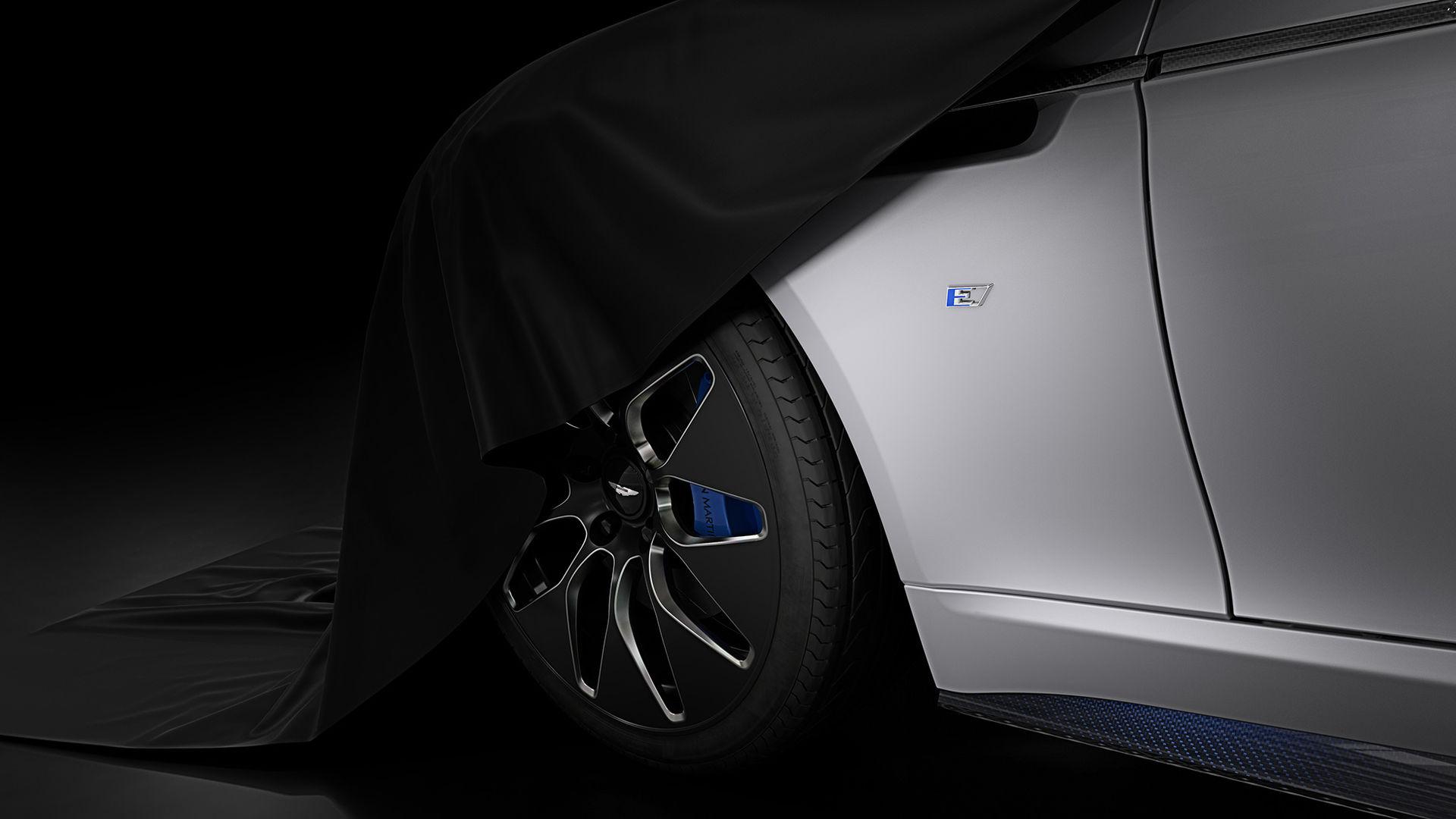Aston Martin ger oss en första glimt av Rapide E