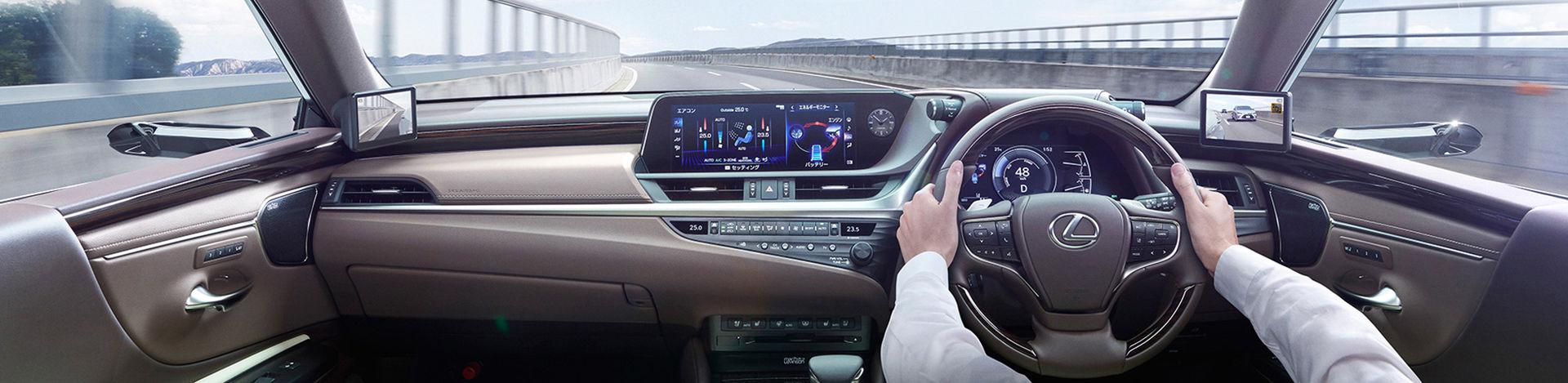 Nya Lexus ES får också kameror istället för backspeglar