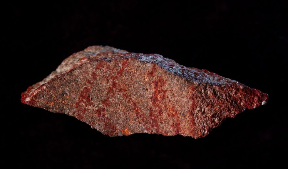 Världens äldsta kända målning hittad i Afrika