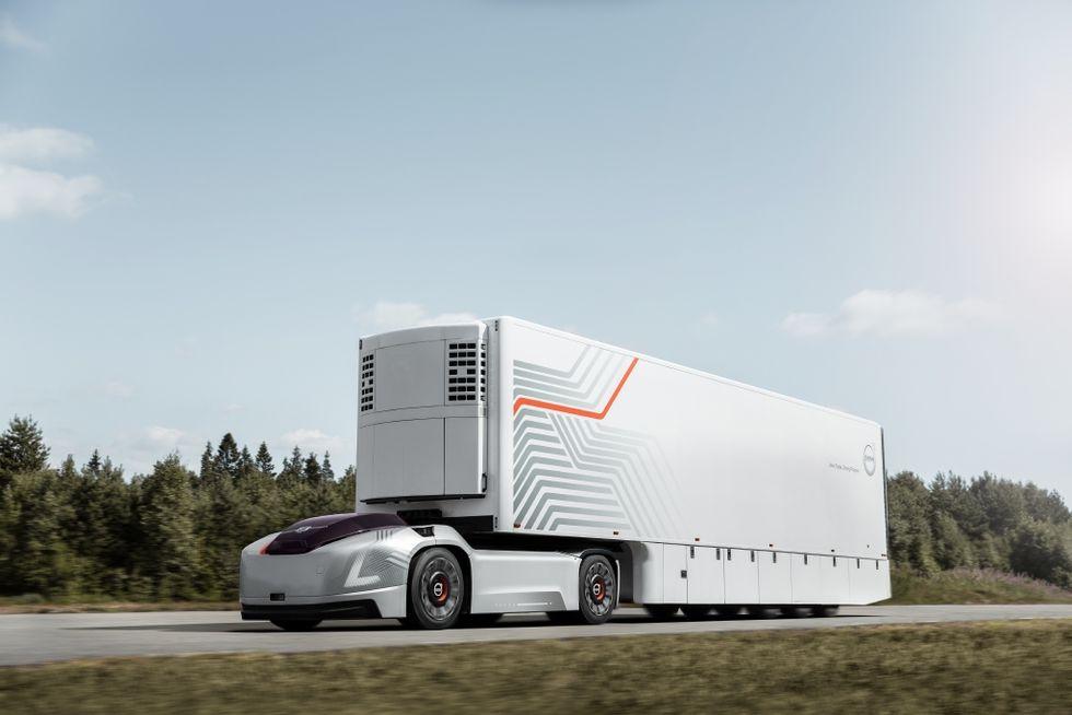 Volvo Trucks presenterar förarlösa konceptet Vera
