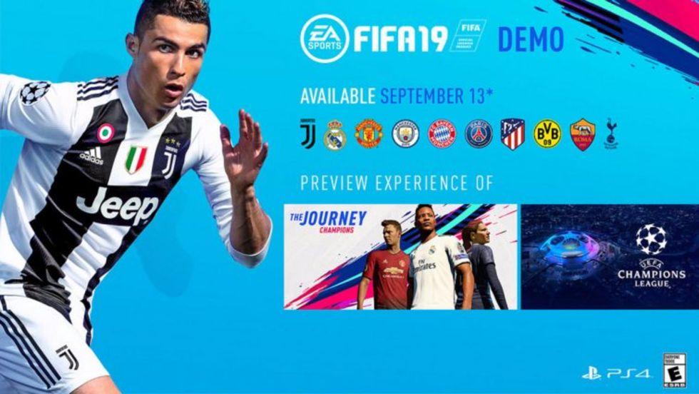 I dag kan du provspela FIFA 19