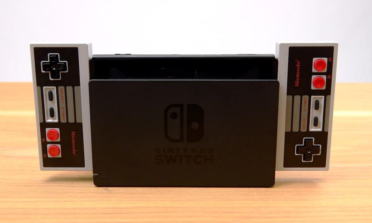 NES-kontroller till Nintendo Switch