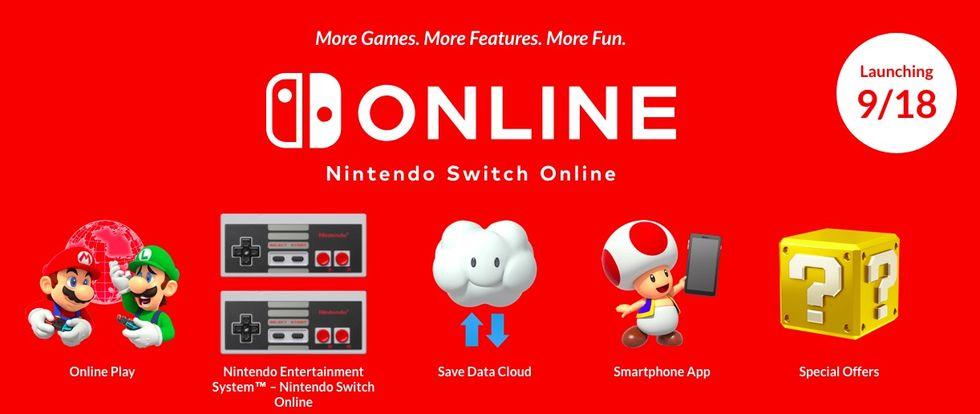 Nästa vecka drar Nintendo Switch Online igång!