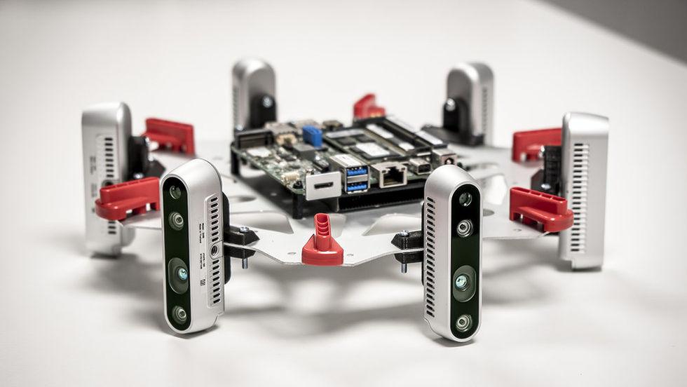 Coolt visuellt navigationssystem för autonoma drönare