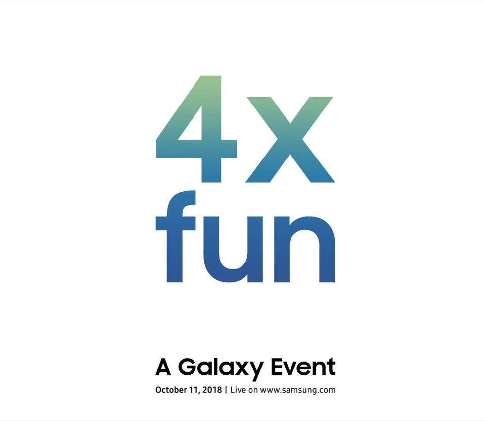 Samsung teasar om nytt Galaxy-event 11 oktober