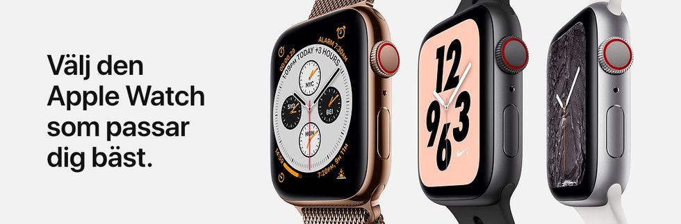 Nu går det att förboka Apple Watch Series 4