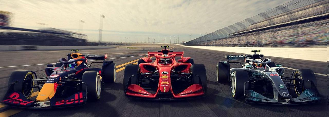 Så här kan F1-bilarna se ut  2021