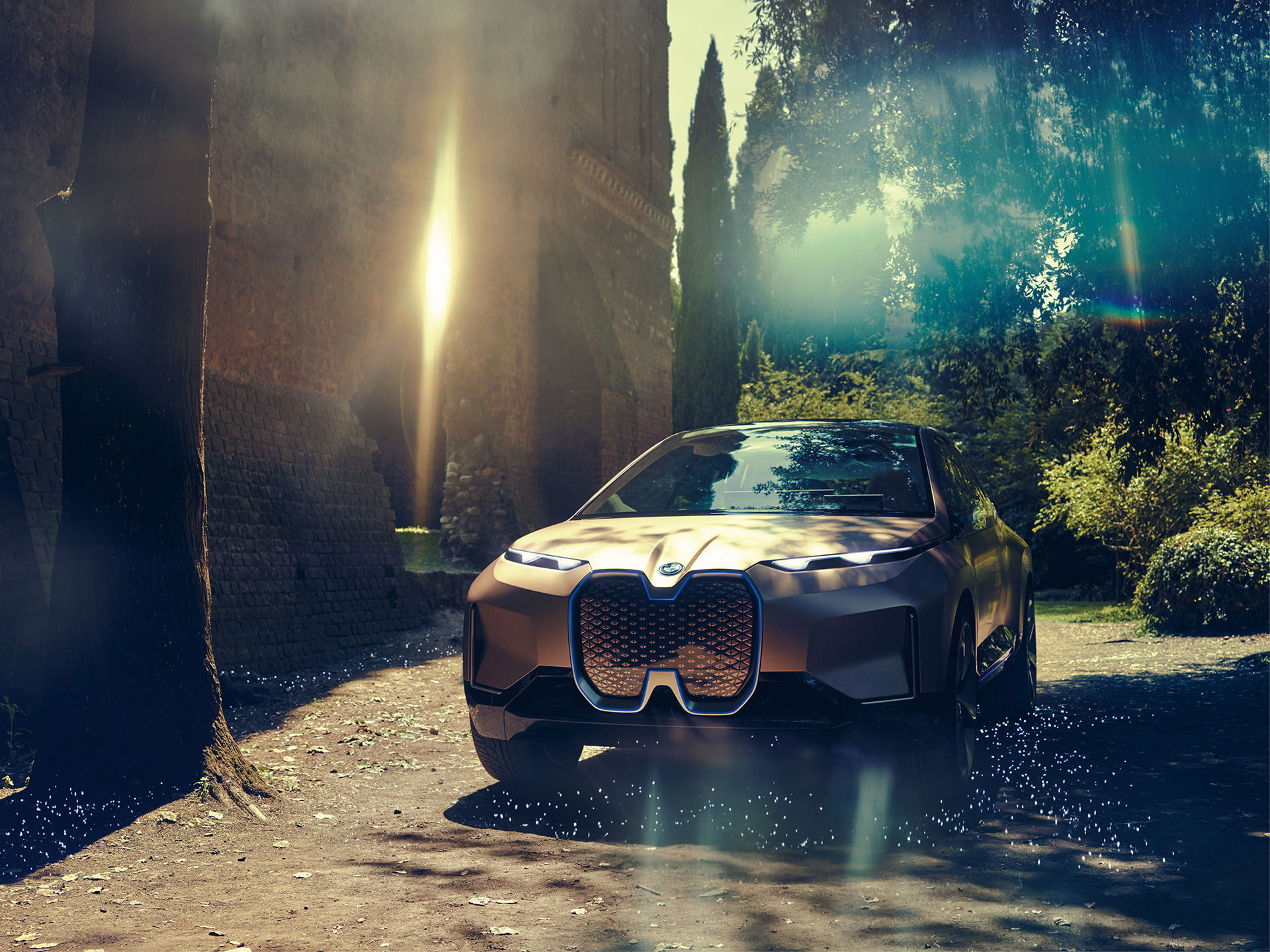 BMW Vision iNEXT - självkörande uppkopplad elbil