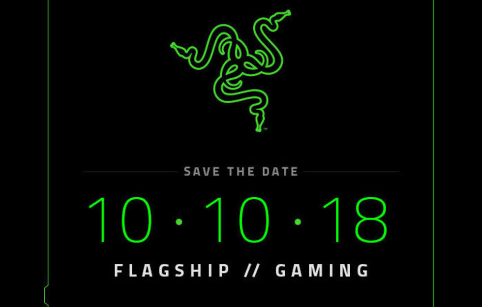 Razer bjuder in till fest 10 oktober