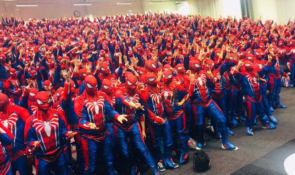 Det slogs världsrekord på Comic Con Stockholm