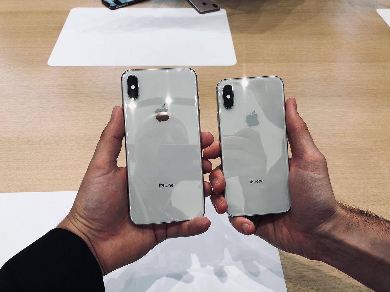 Lägre efterfrågan än väntat på iPhone Xs