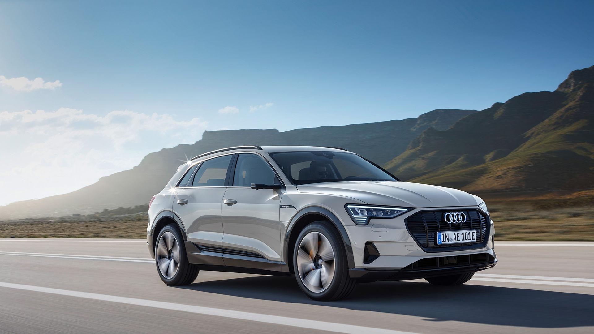 Nu är den här - Audis första serietillverkade elbil