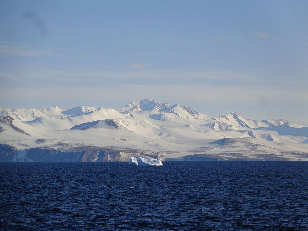 Glaciär på Antarktis får nytt namn efter Metoo