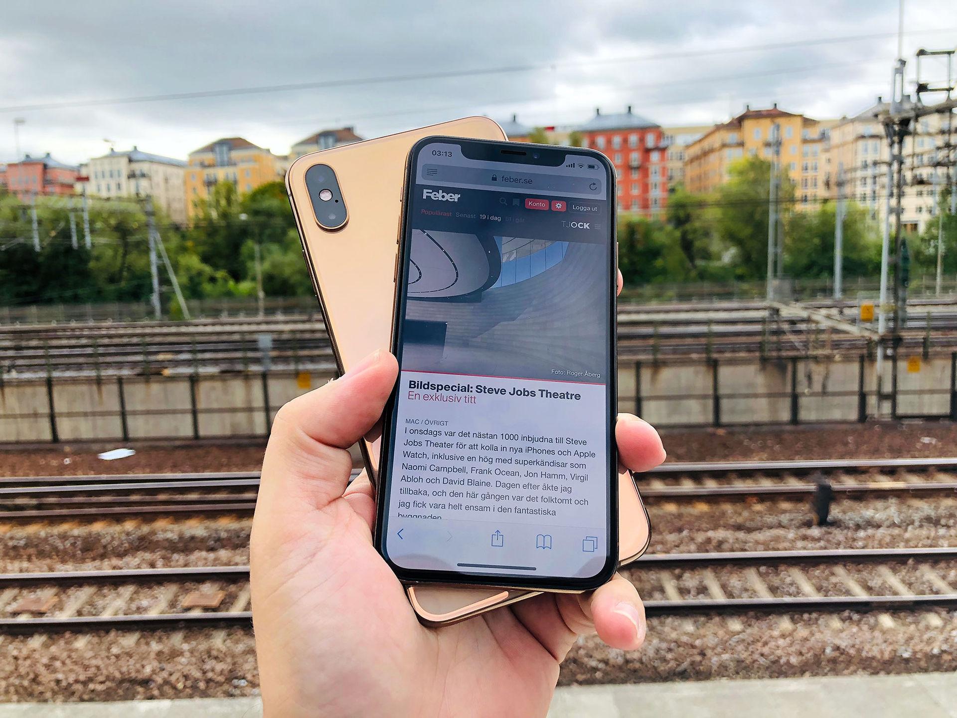 Så bra är iPhone Xs och Xs Max! Vi ger er första svenska recensionen ... 10987bd2af129