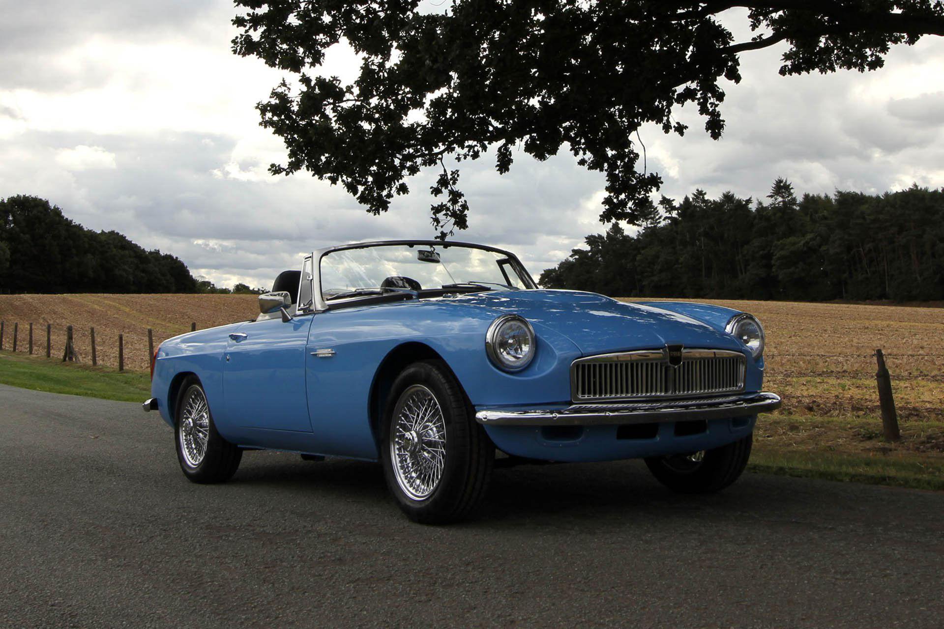 För 116.000 pund får du en eldriven MG Roadster