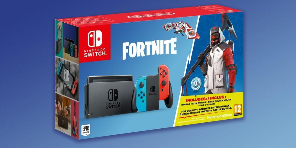 Nintendo Switch släpps i Fortnite-version