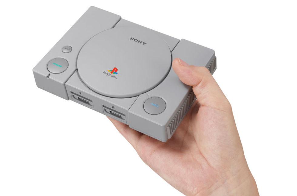 Sony presenterar Playstation Classic