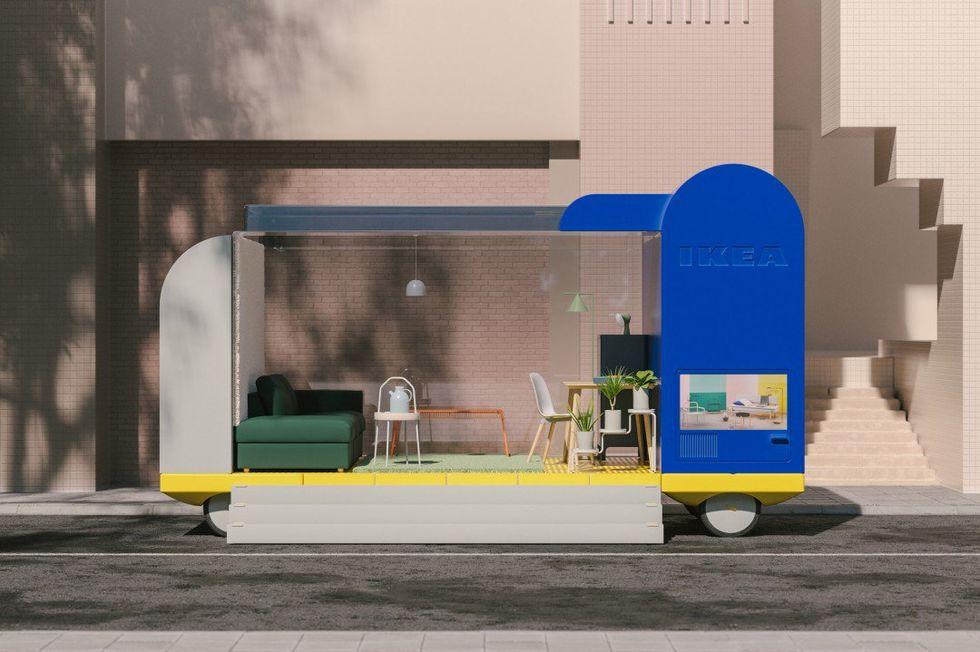 Så här tänker sig IKEA att självkörande fordon kan fungera