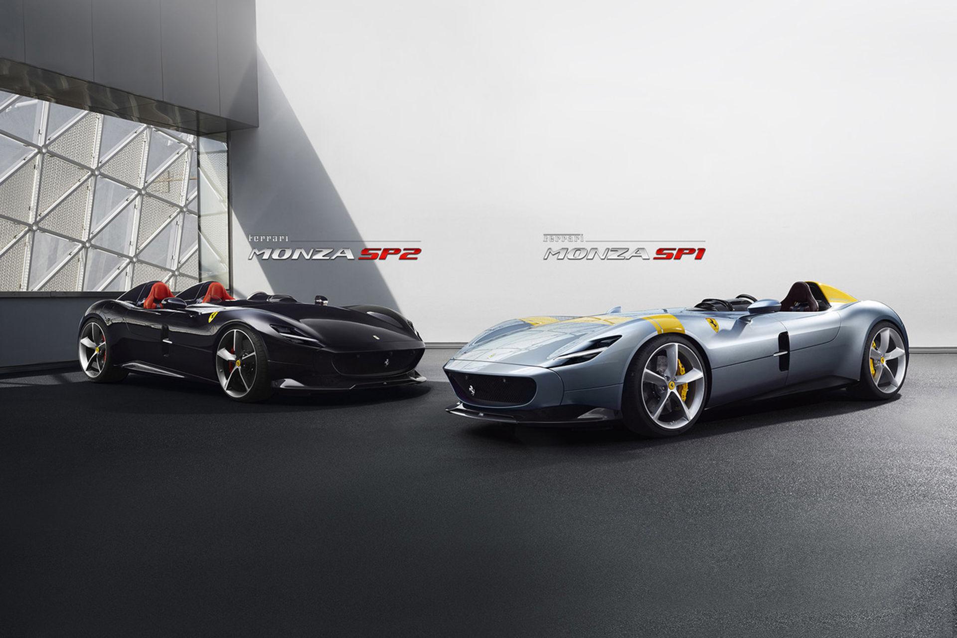 Ferrari visar upp Monza SP1 och Monza SP2
