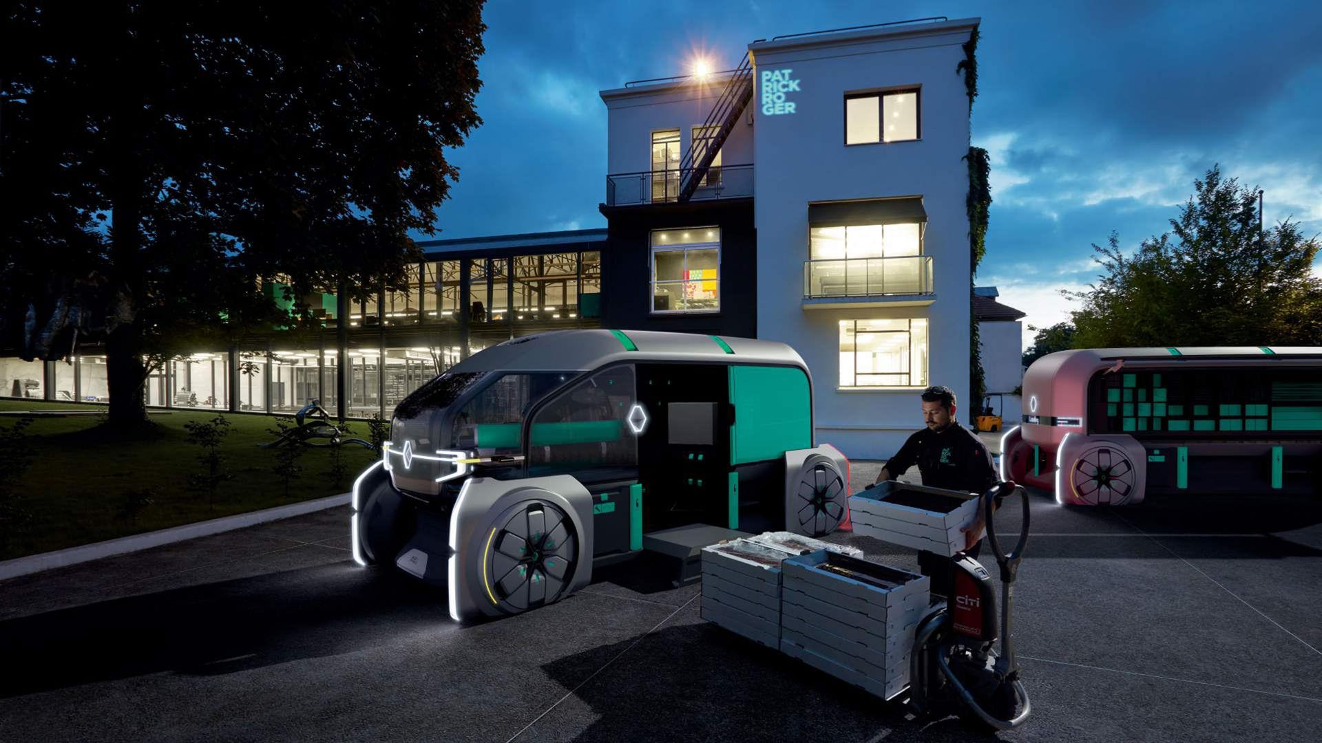 Renault EZ-PRO - när du behöver självkörande leverans