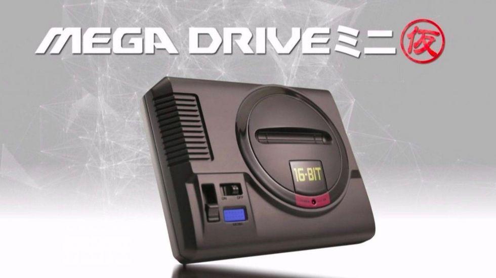 Sega Mega Drive Mini försenas till nästa år