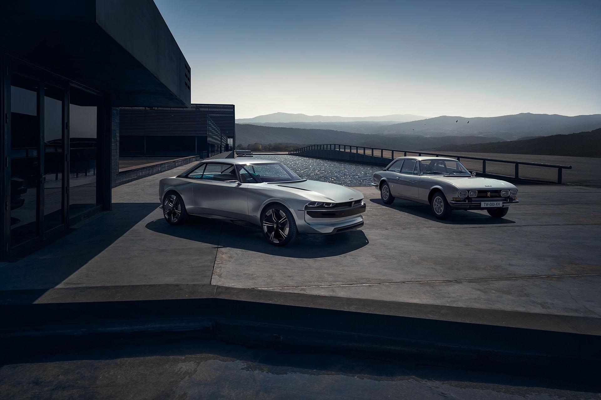 Peugeot e-LEGEND CONCEPT - för en roligare framtid