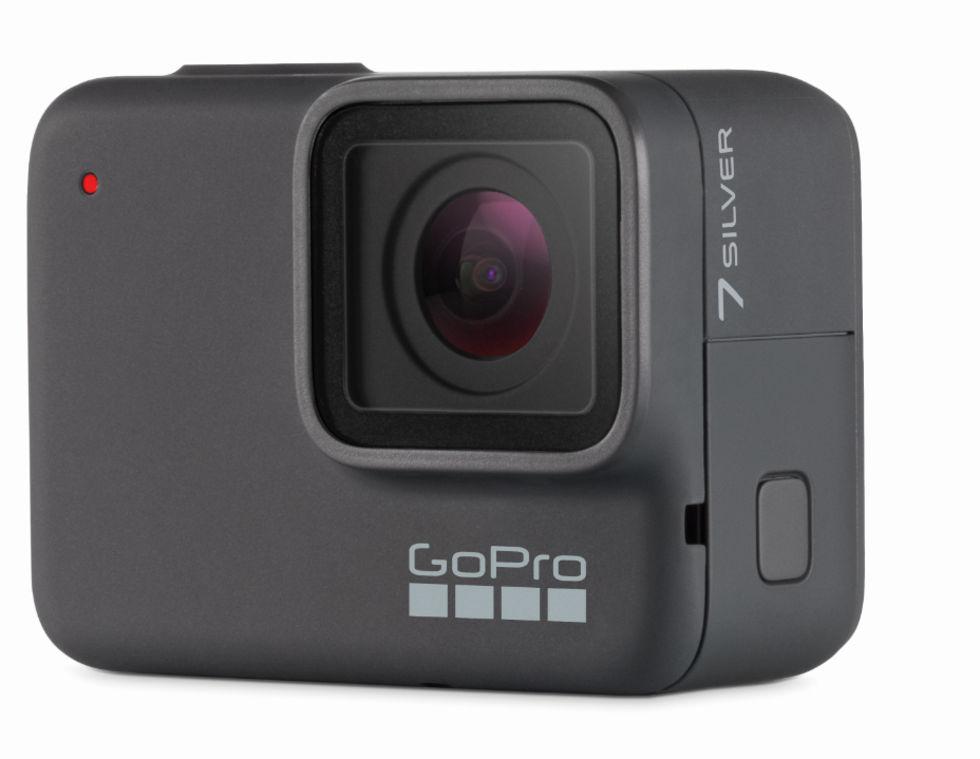 GoPro har tre Hero 7-kameror på ingång
