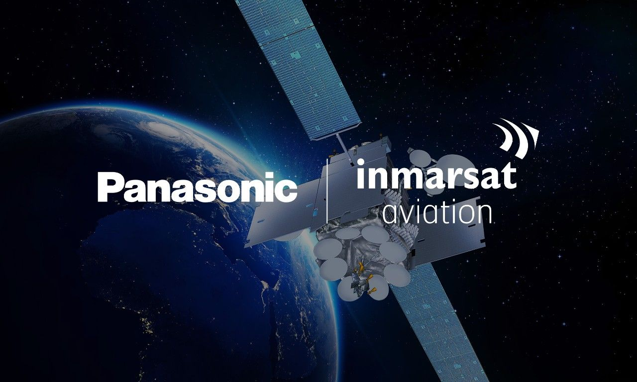 Inmarsat och Panasonic ska fixa bredband till flygplan