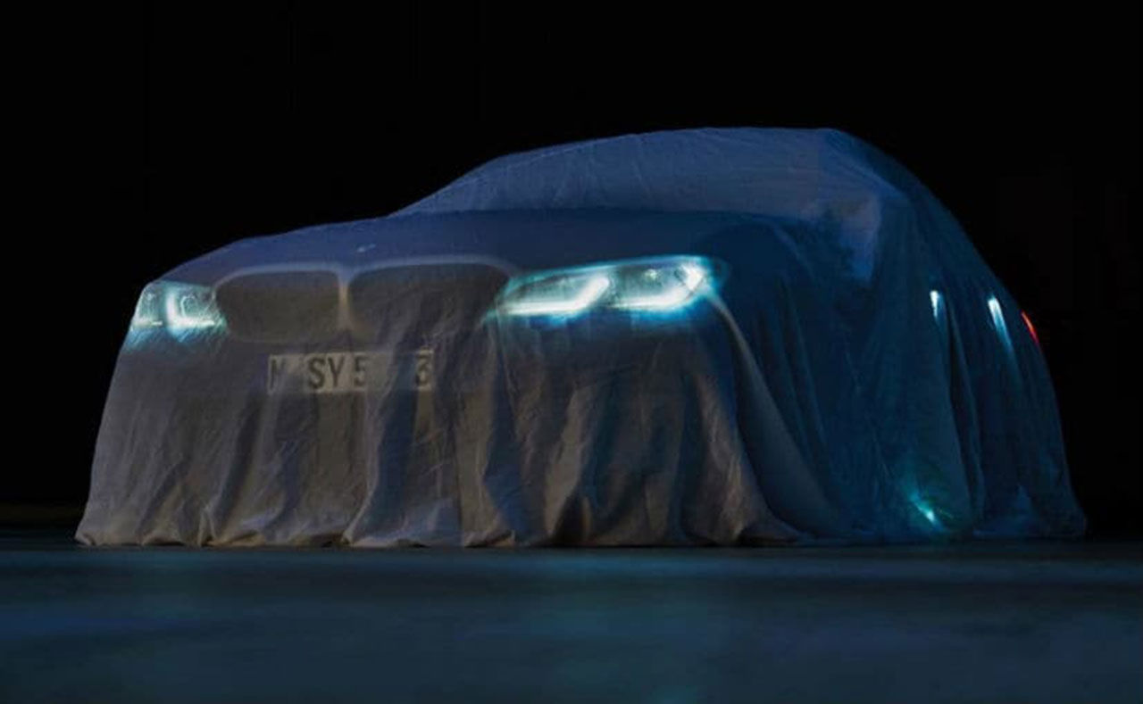 Under det här skynket står nya BMW 3-serie
