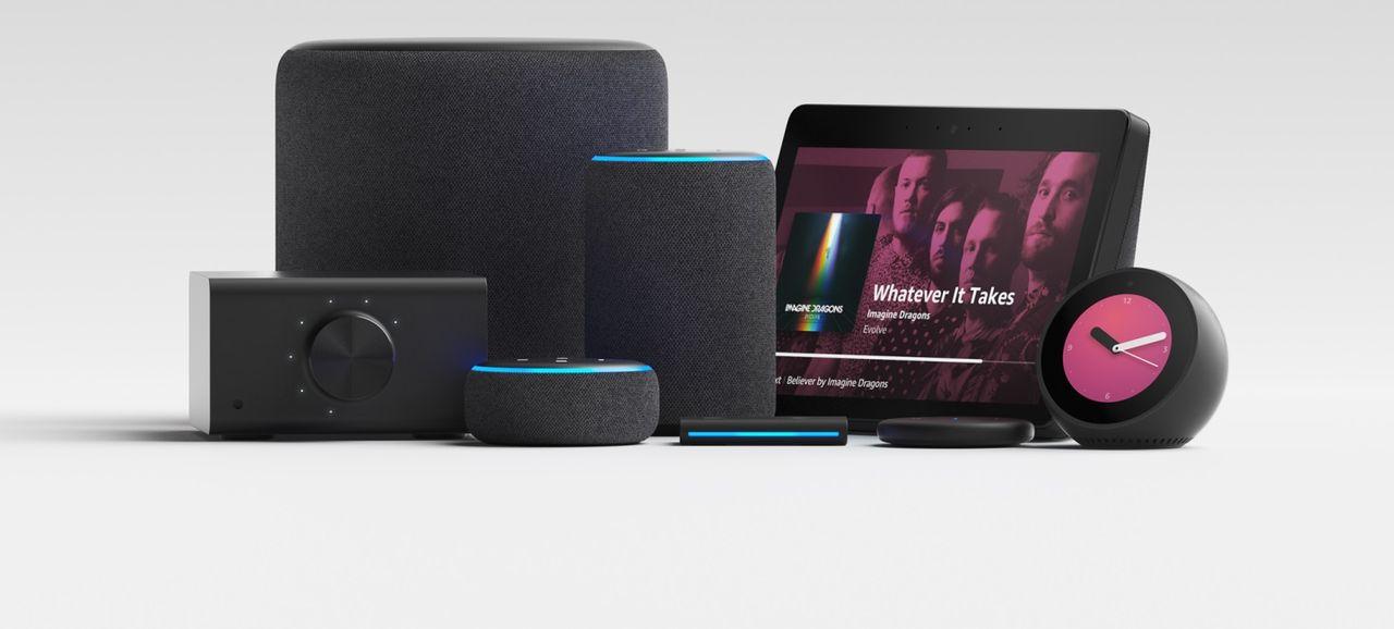 Amazon presenterar en rad nya smarta produkter