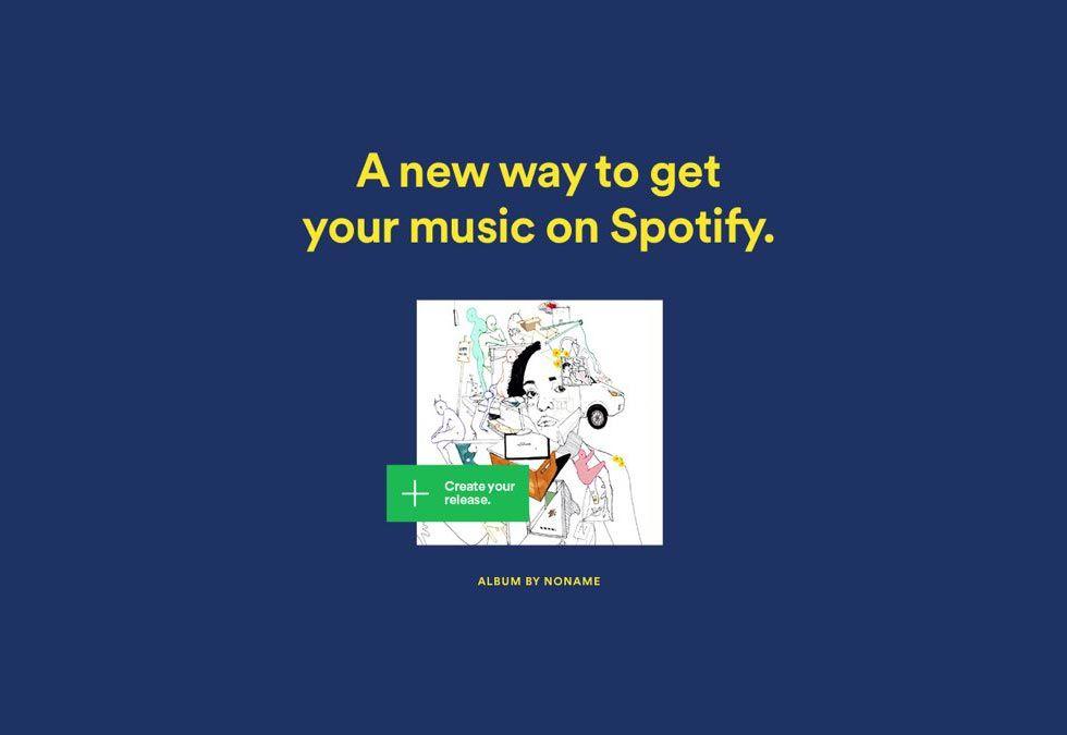 Nu kan artister ladda upp musik direkt på Spotify