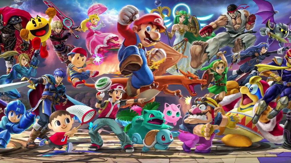 Cancersjuk kille fick spela Super Smash Bros. Ultimate