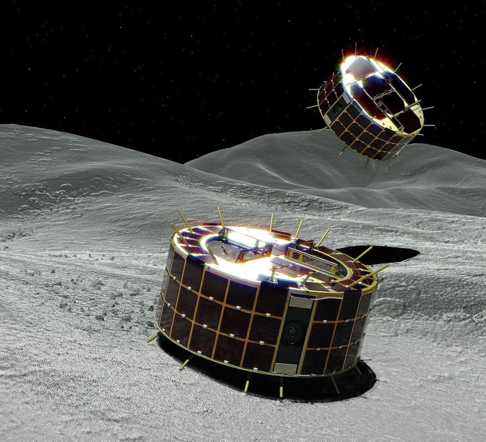 Japan har landat på asteroiden Ryugu