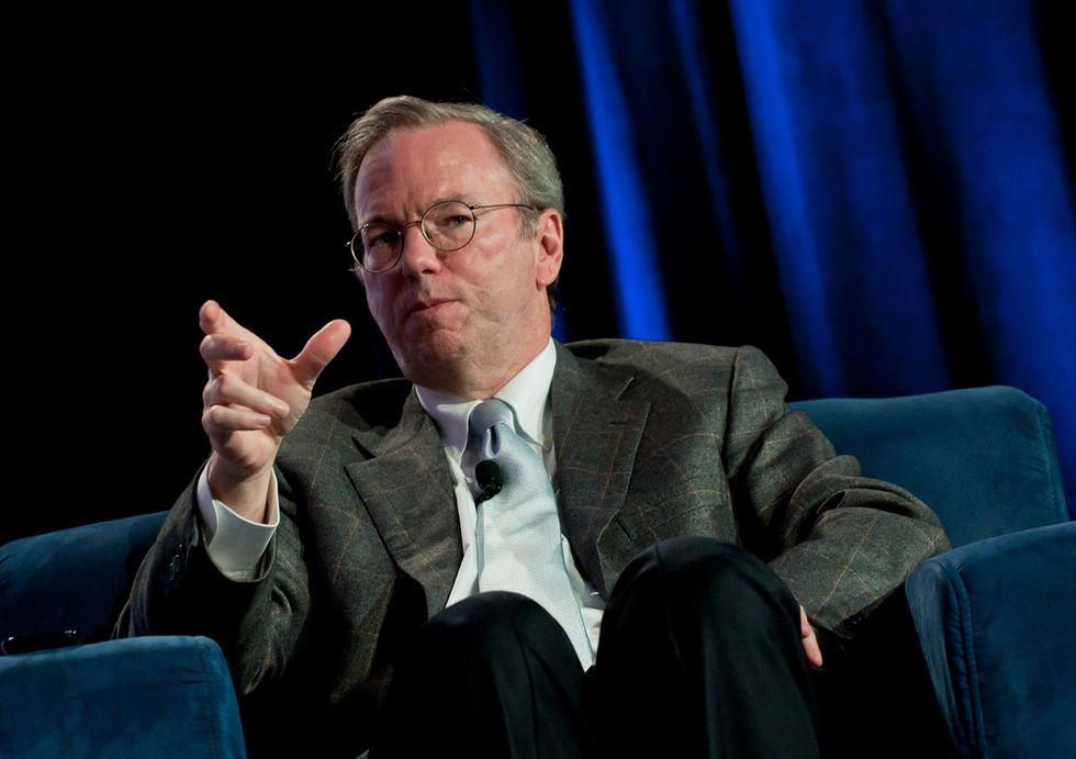 Eric Schmidt förutspår att Internet delas i två delar till 2028