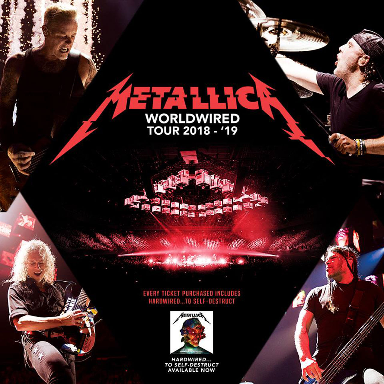 Metallica spelar på Ullevi nästa sommar