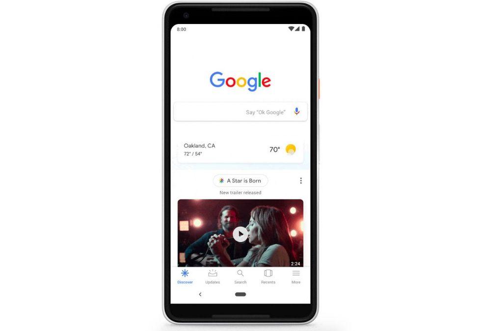 Google döper om Feed till Discover