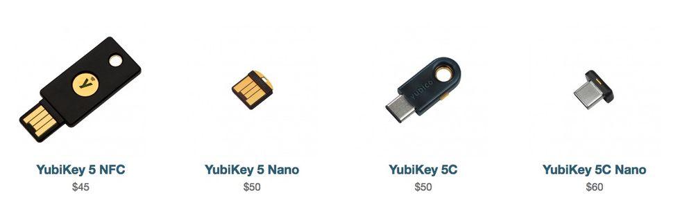 Yubico släpper ny version av hårdvarulåset YubiKey